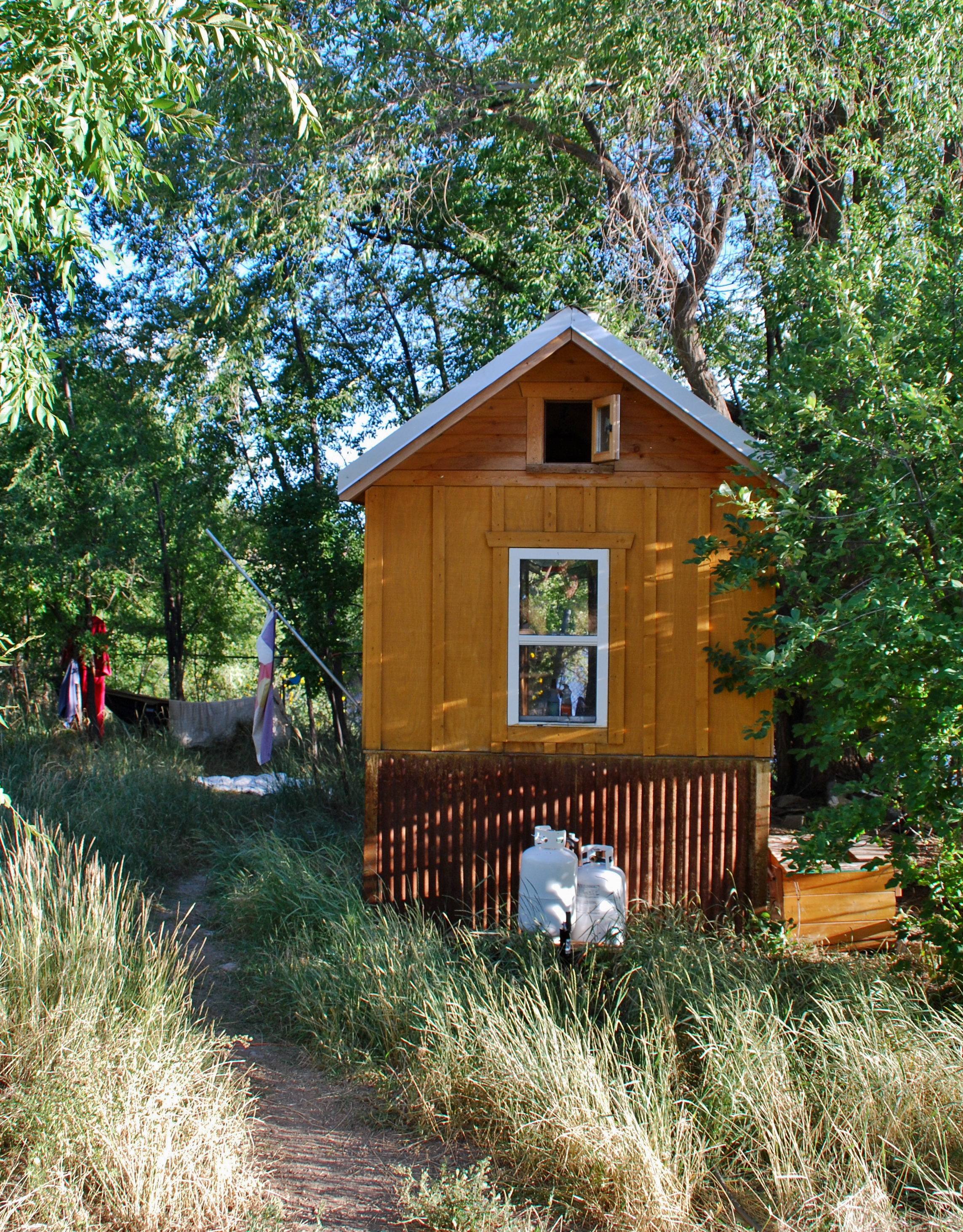 Een tiny house try out ~ my tiny house nl tour usa