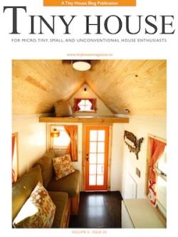 Artikel in Tiny House Magazine nr 33 My Tiny House