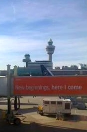 schiphol, new beginnings