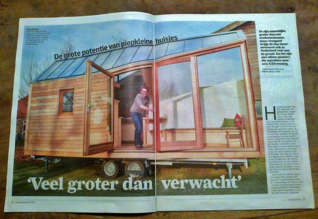 Artikel tiny house AD
