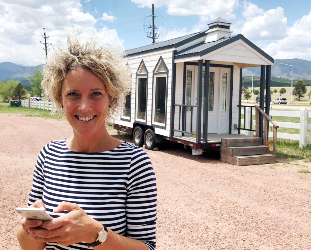 Frieda Bakker tiny house